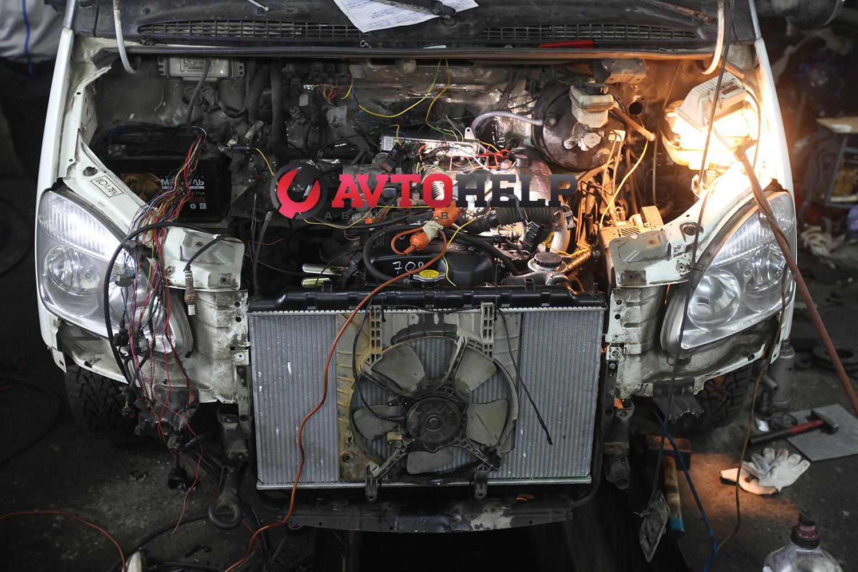 свап двигателя Соболь 1jz