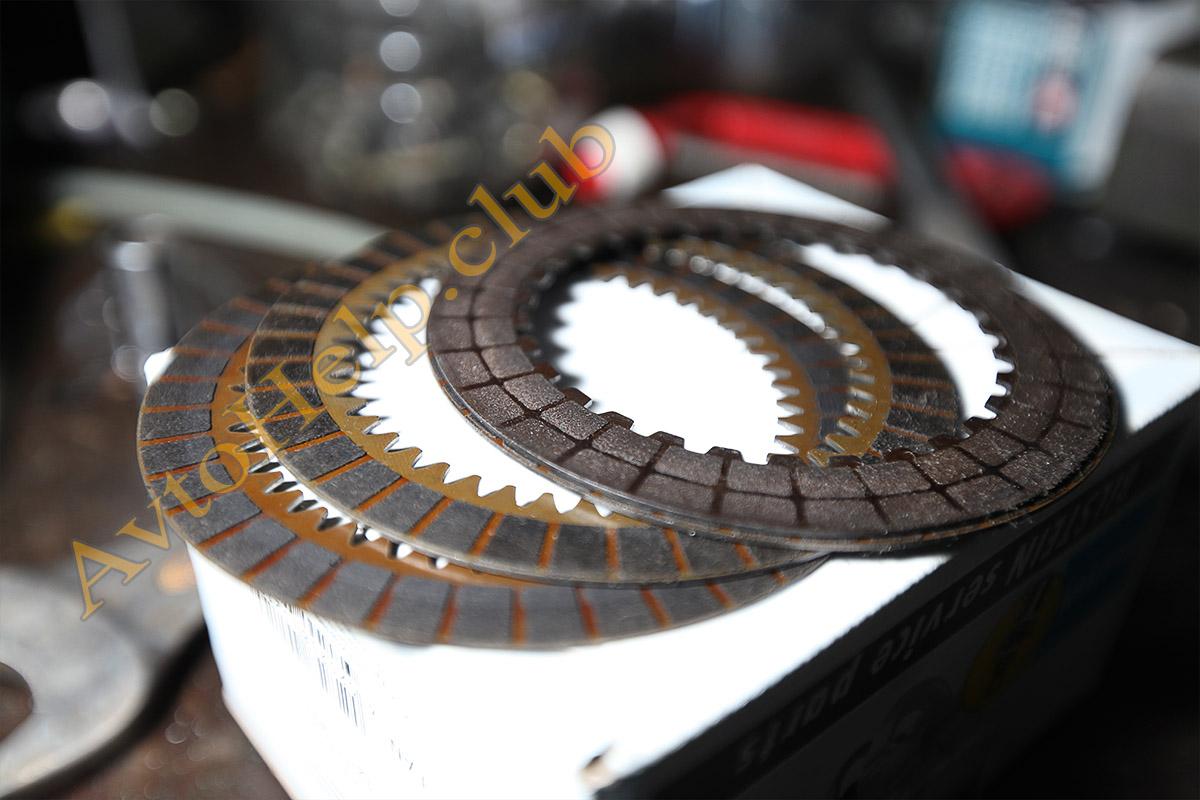 ремонт акпп хонда, замена фрикционных дисков