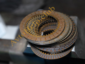 ремонт акпп хонда, фрикционные диски
