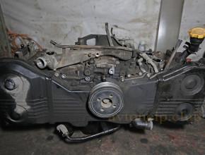 замена двигателя субару