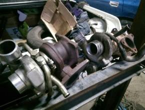 замена двигателя и турбины subaru forester