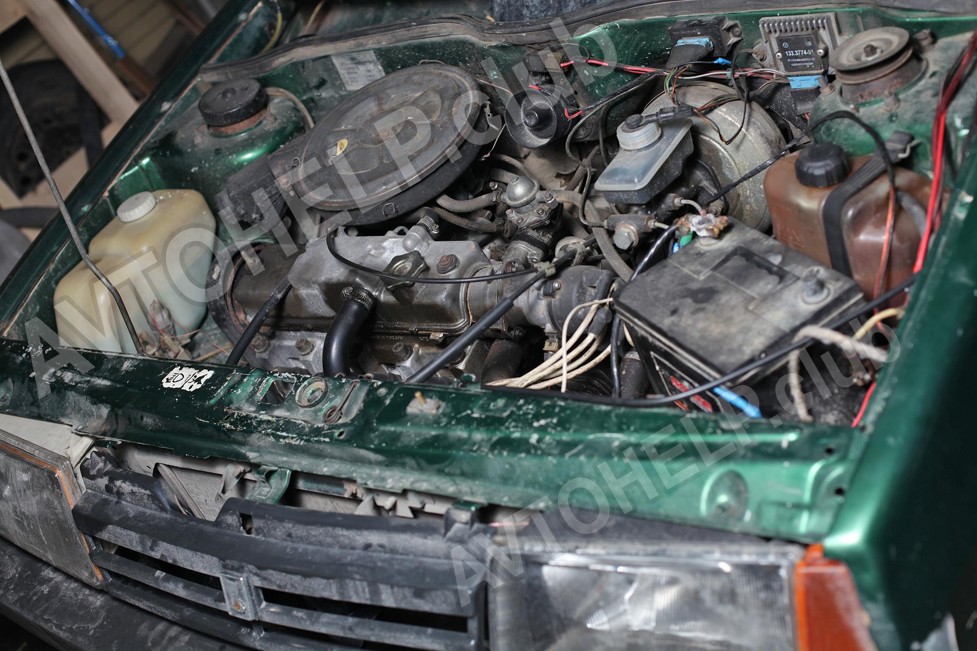ремонт двигателя 2109