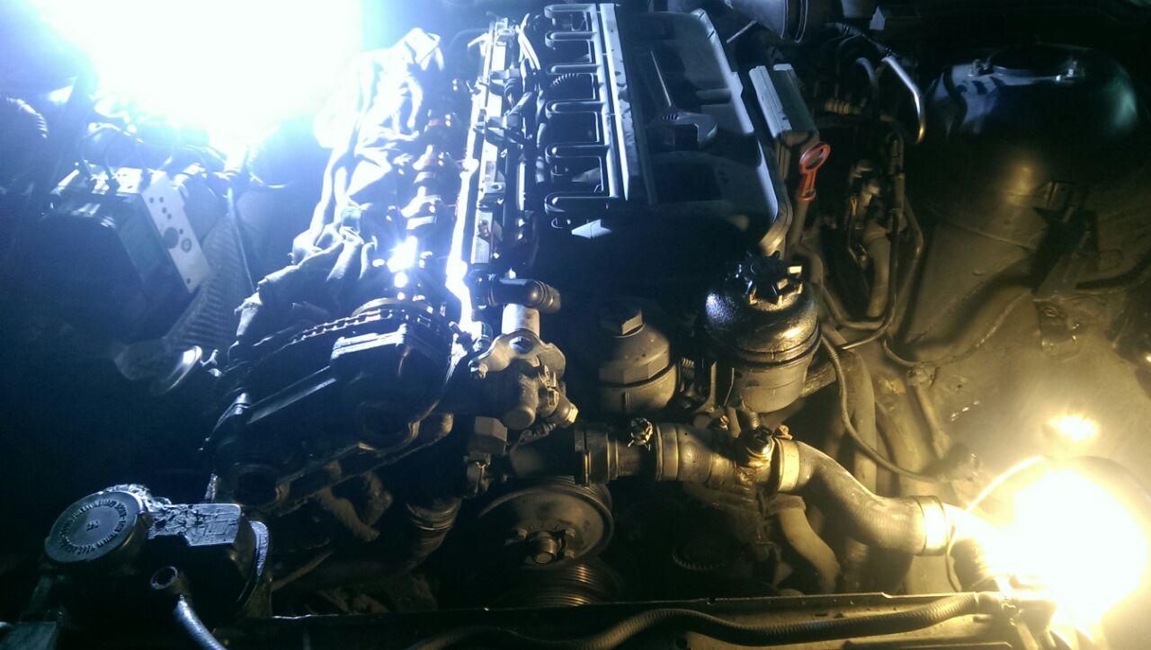 ремонт двигателя BMW E39, автосервис AVTOHELP, Новосибирск