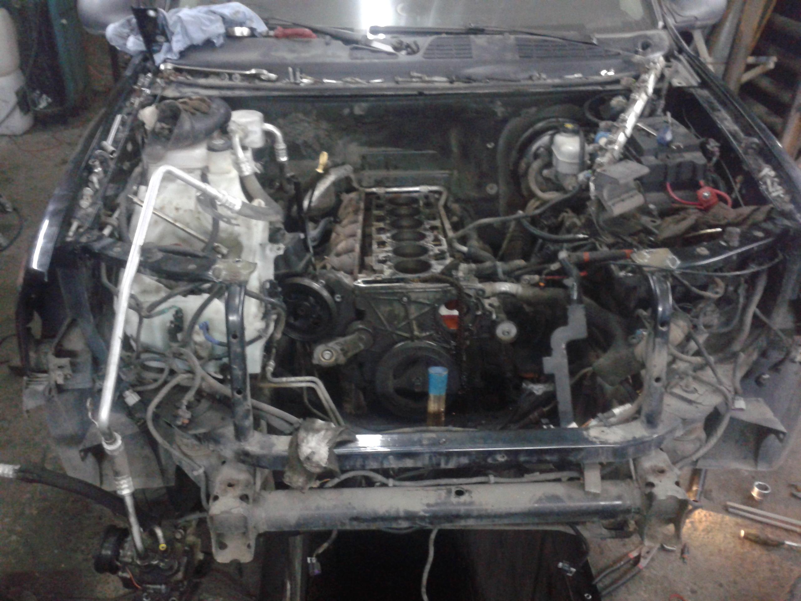 Ремонт двигателя Тиана, автосервис Avtohelp