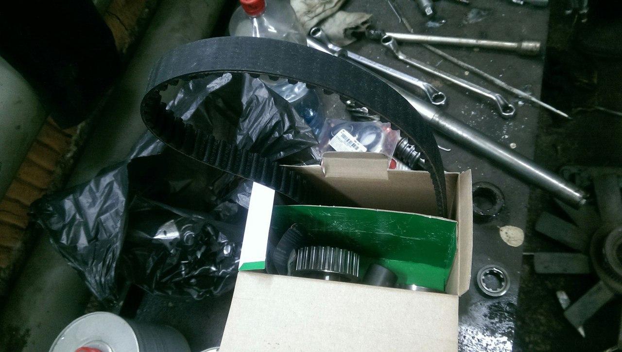 Замена грм, BMW 3