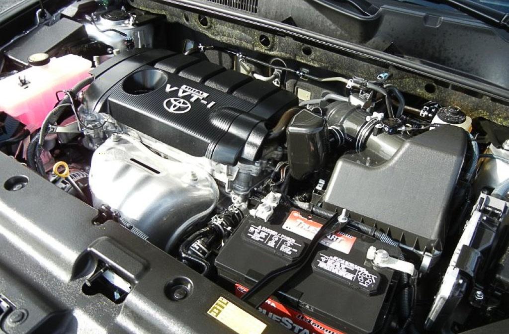 Toyota Rav4 замена антифриза
