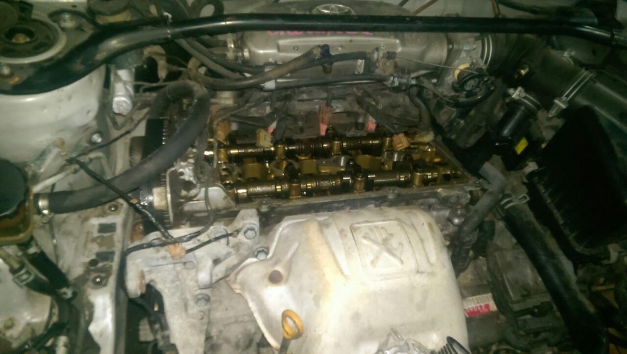 Toyota Corolla - замена ГРМ