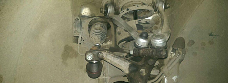 Фольксваген Пассат. Ремонт ходовой части, многорычажная подвеска, замена. Автосервис Avtohelp, Новосибирск