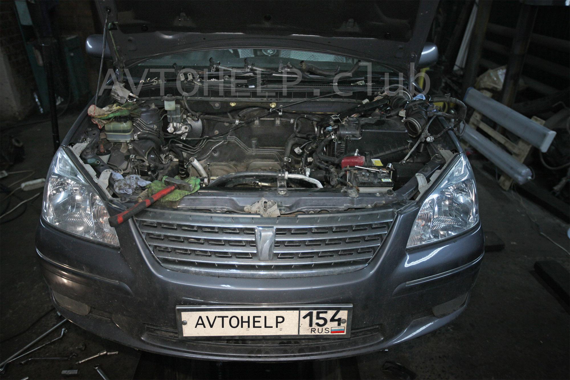 Капитальный ремонт двигателя, автосервис Avtohelp, Новосибирск