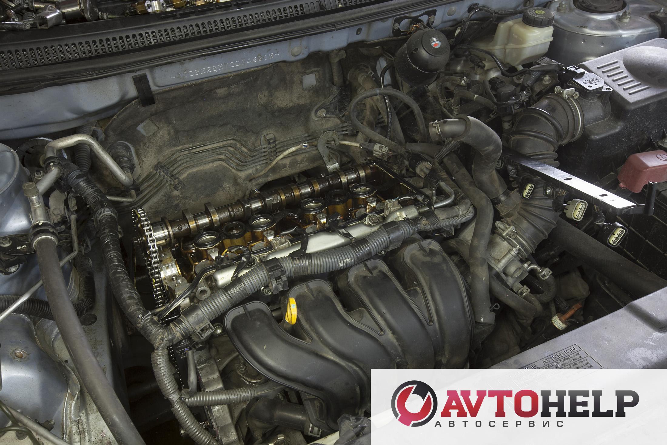 Toyota Corolla, ремонт двигателя.