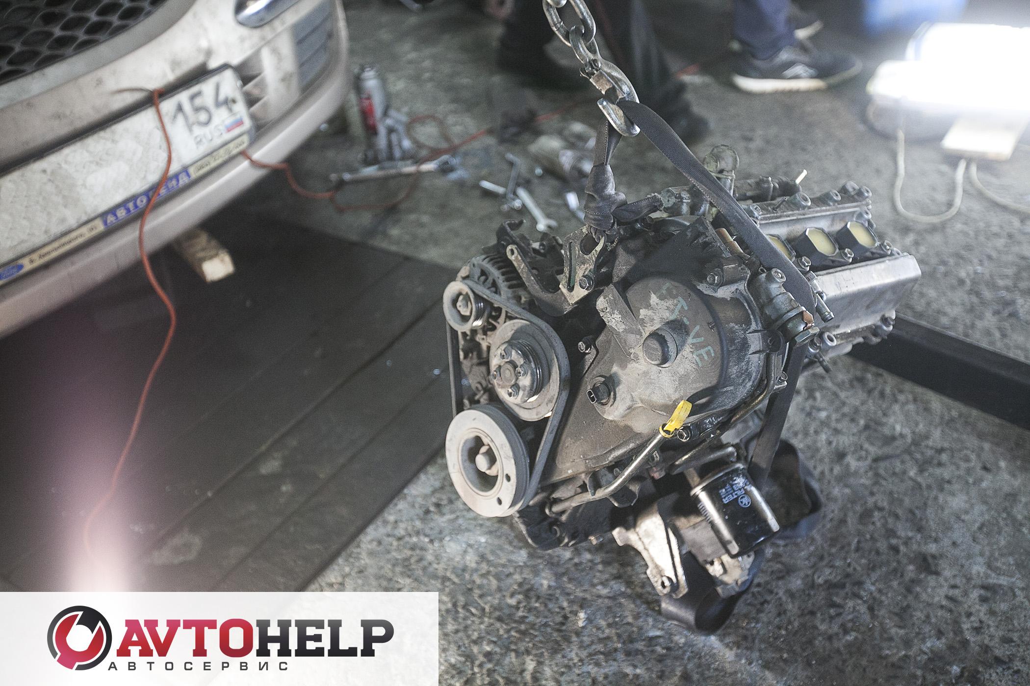 Замена двигателя, Toyota Duet (Тойота Дуэт). 4WD