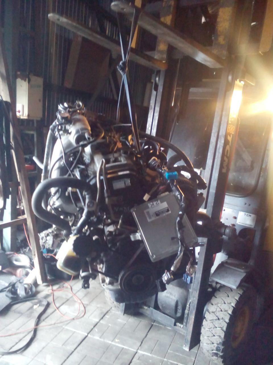 Замена мотора Тойота Ипсум