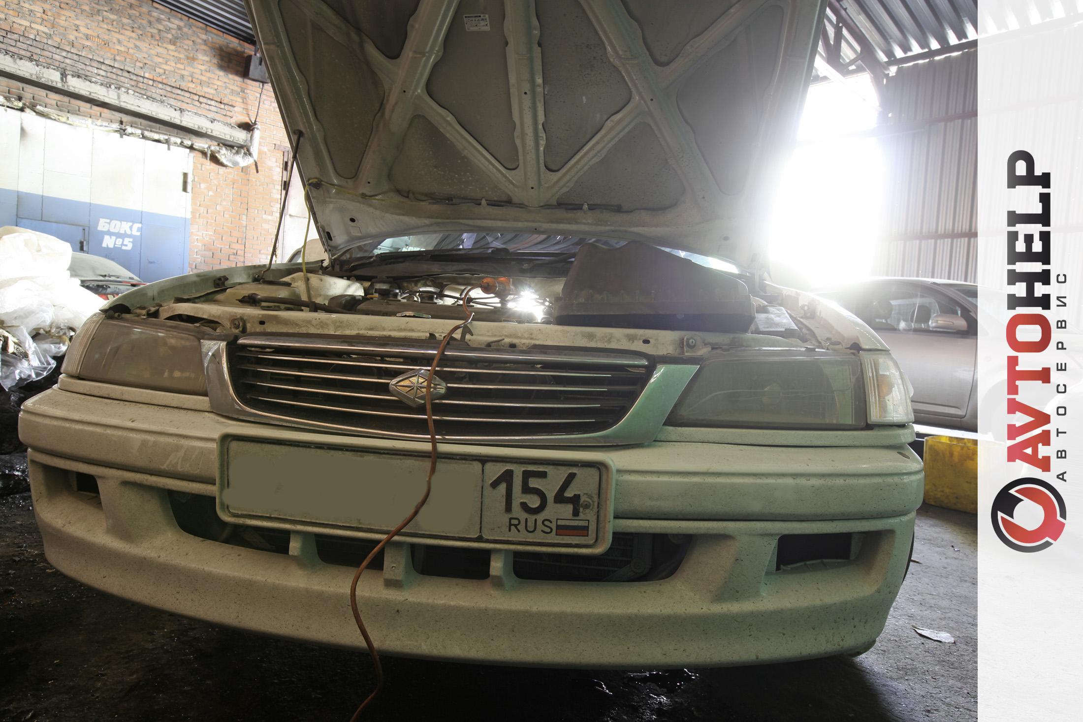 Тойота Премио. Промывка форсунок и дросселя.