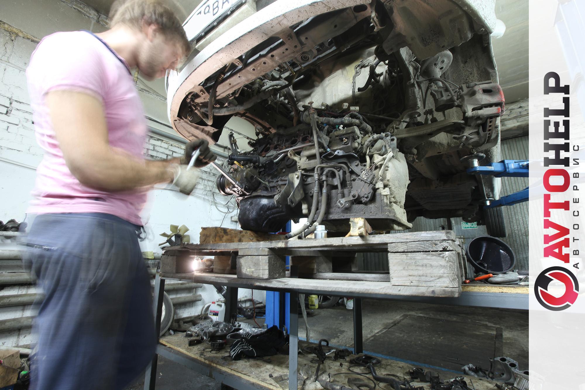 Замена мотора Тойота Ипсум (Toyota Ipsum)