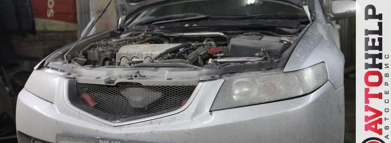 Замена катушек зажигания, Honda Accord
