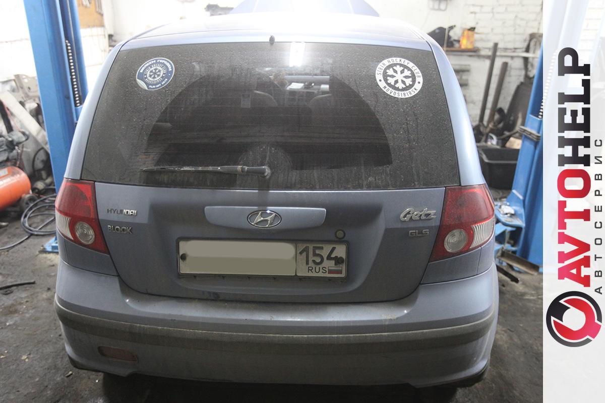Замена ремня ГРМ, Hyundai Getz