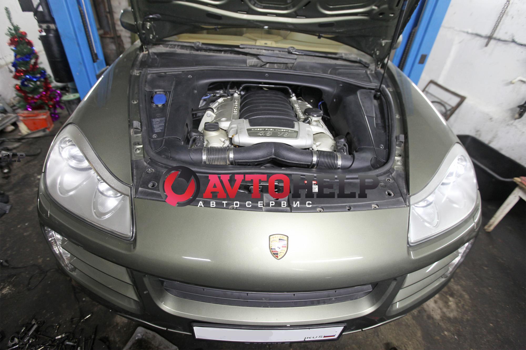 Капитальный ремонт двигателя Porsche Cayenne, капиталка порш каен, новосибирск