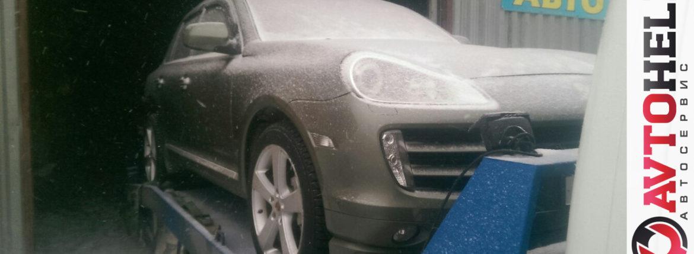 На капитальный ремонт, Porsche 2008
