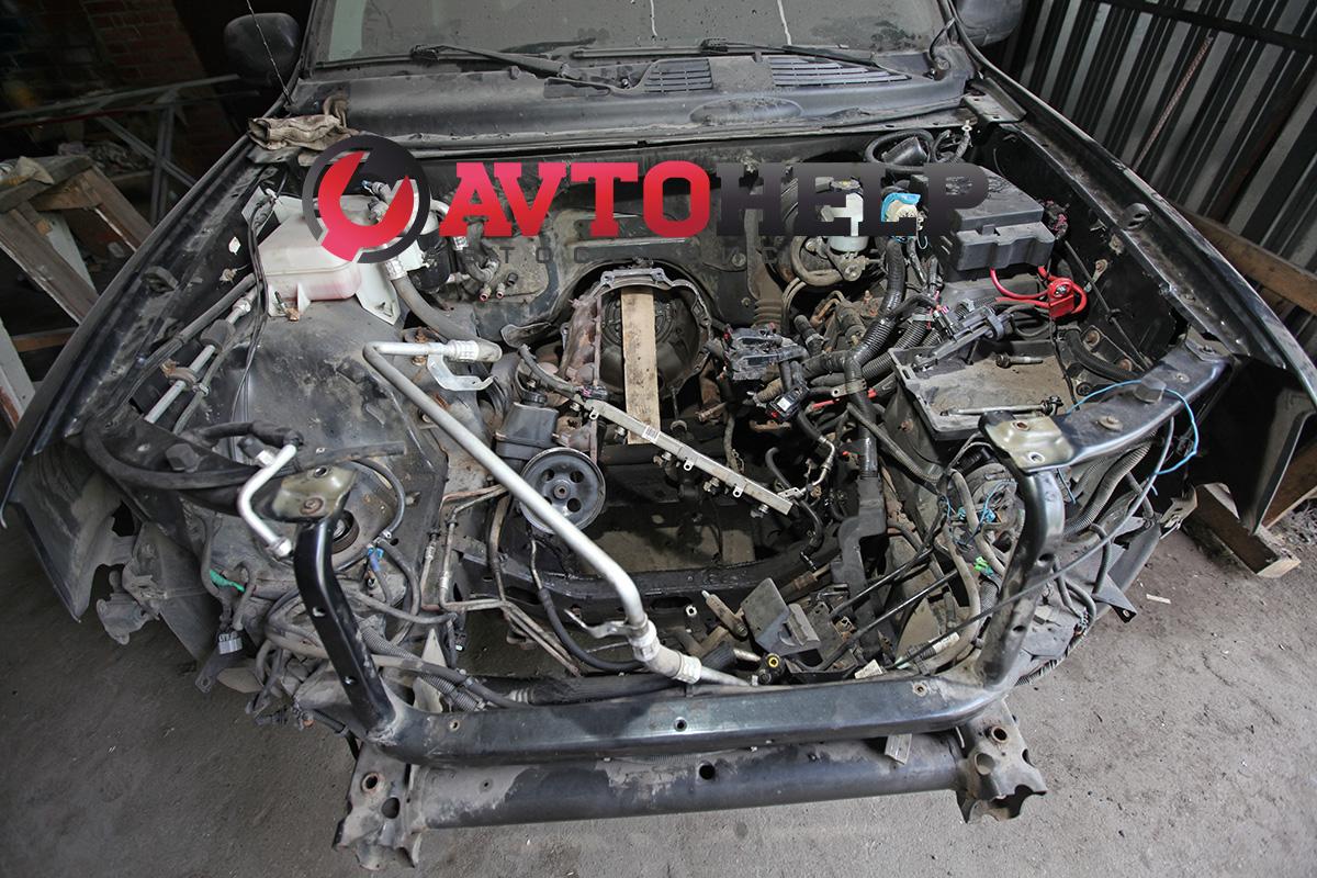 Замена двигателя, Chevrolet TrailBlazer