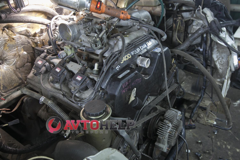 Установка японского двигателя на ГАЗель, 5VZ-FE