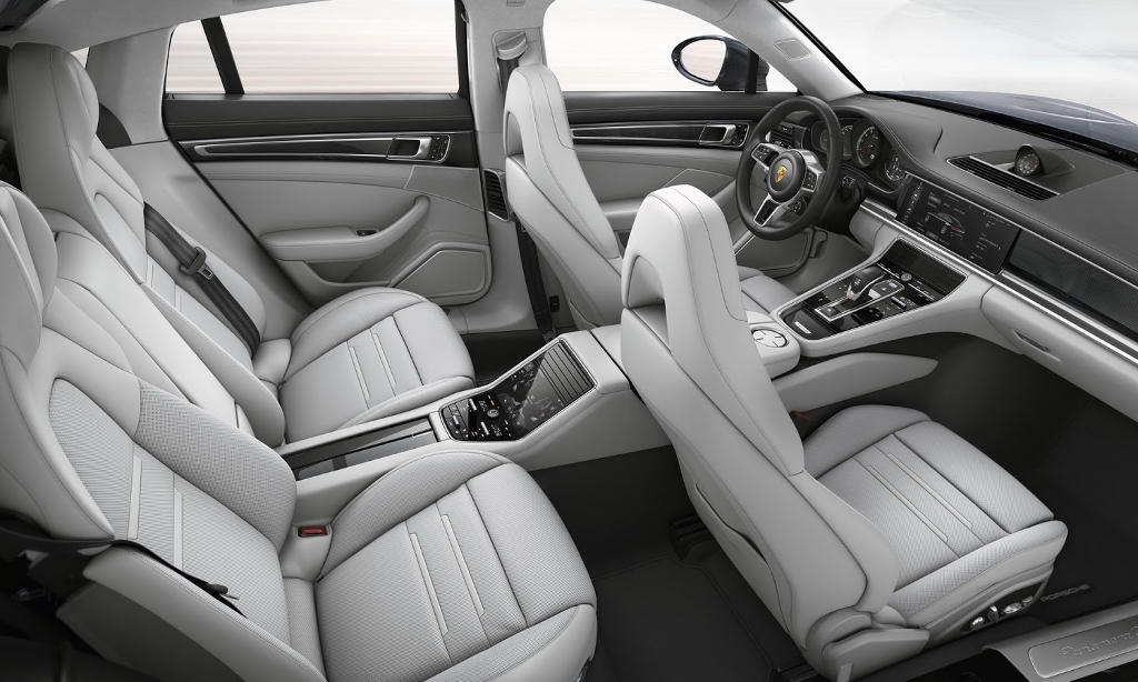 Интерьер Porsche Panamera 2
