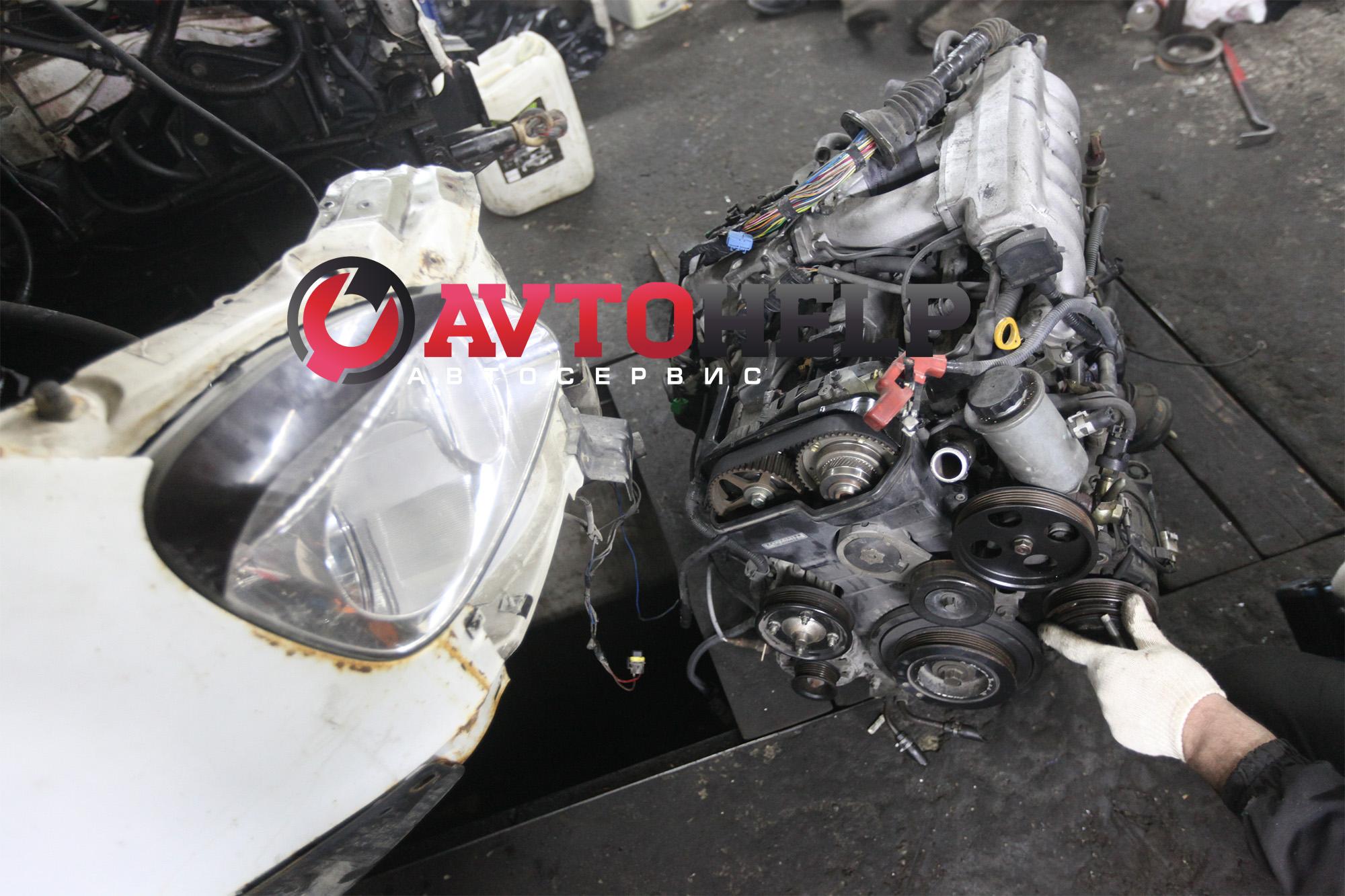 Установка японского двигателя 2JZ-GE на ГАЗель
