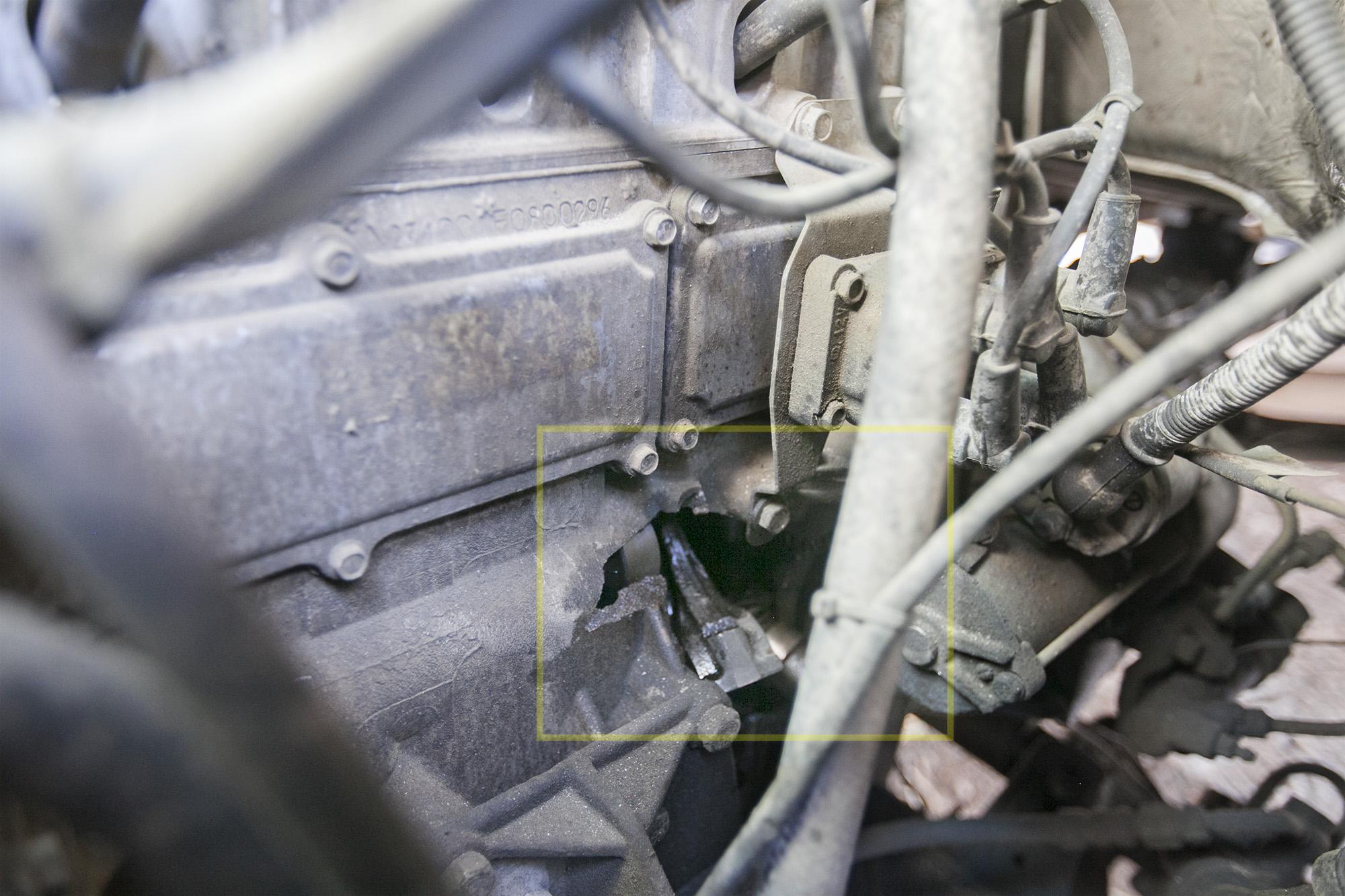 ГАЗель Next, замена двигателя на японский (свап)