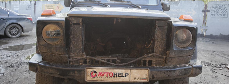 Старый двигатель Гелендвагена скоро будет заменен на японский двигатель. Свап Гелика.
