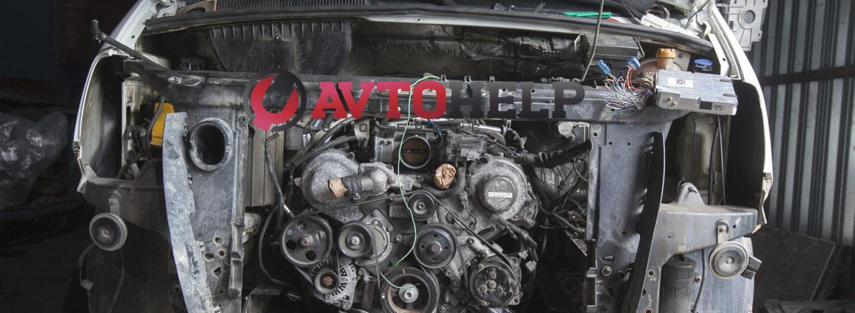 ГАЗель Next, замена двигателя на японский, двигатель установлен
