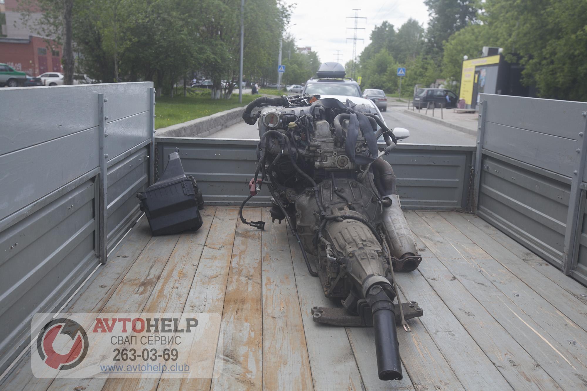 Очередная Газель на Свап, двигатель 2JZ