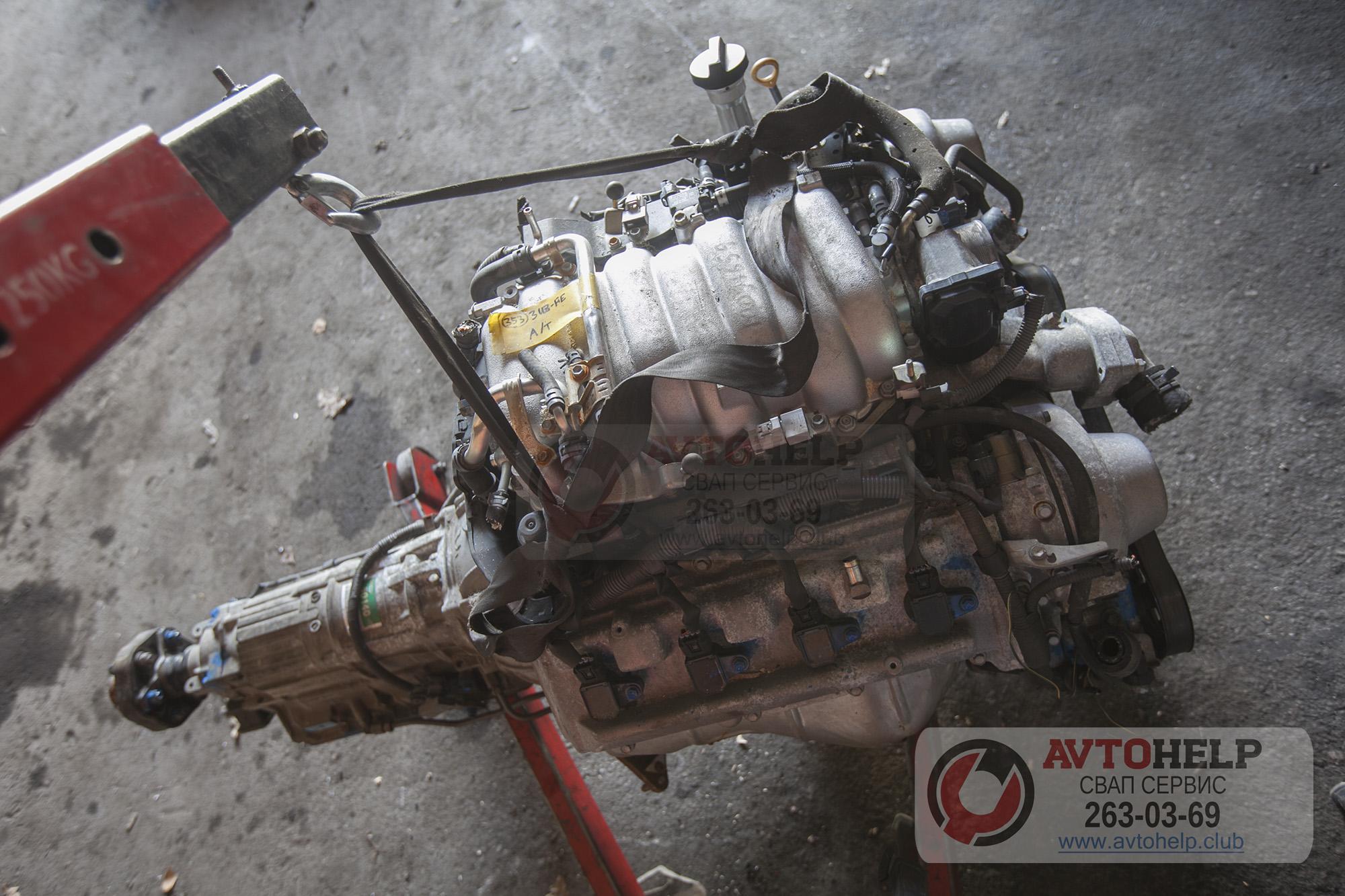 двигатель 3UZ-FE установка на Фольксваген Крафтер