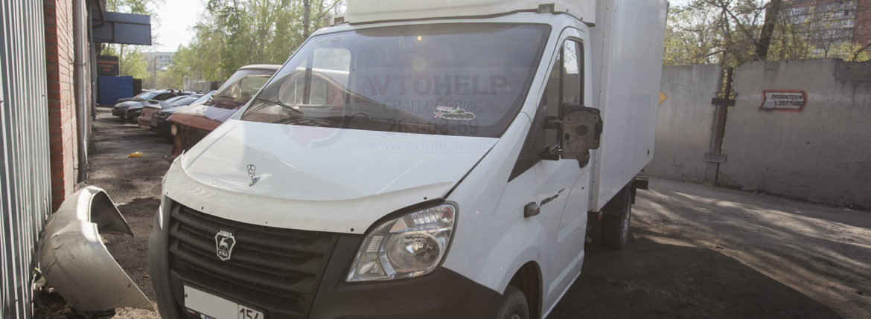 Завершена установка 1UZ-FE на ГАЗель NEXT