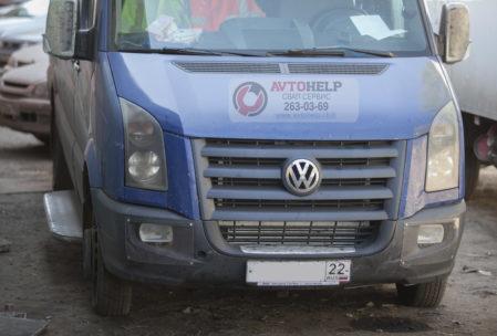 Замена  двигателя    VW Crafter  на 3UZ-FE