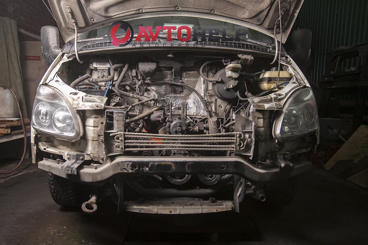 установка японскго двигателя на ГАЗель