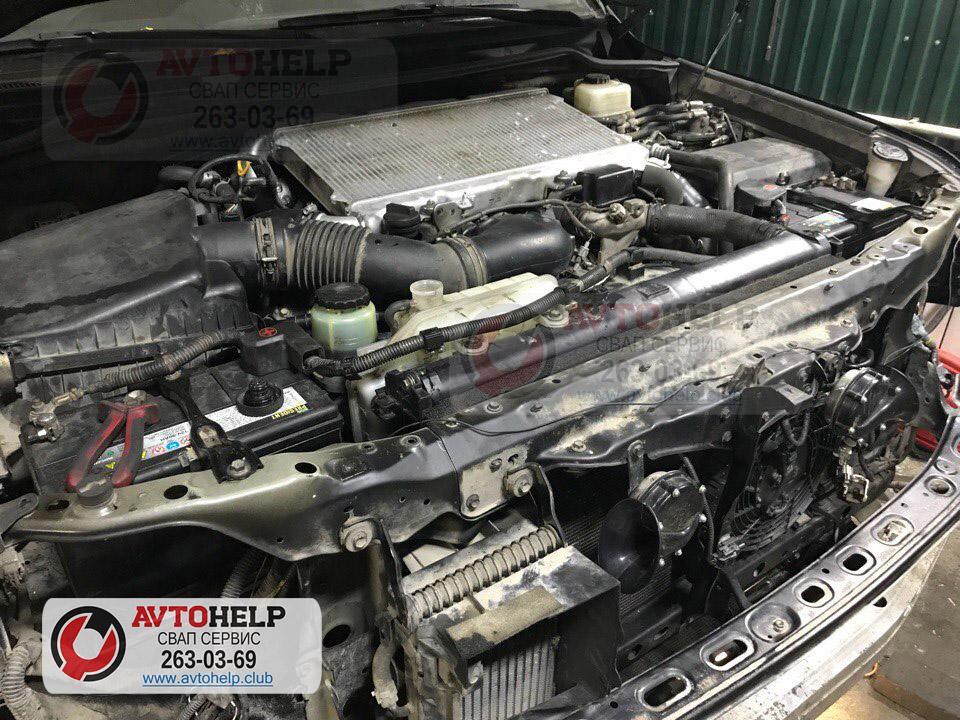 Ремонт двигателя и гильзовка Land Cruiser 200