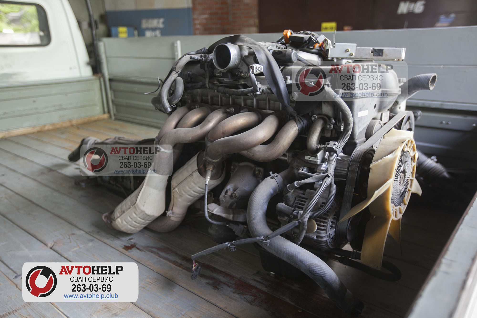 Свап ГАЗели Next с двигателем 1UZ-FE