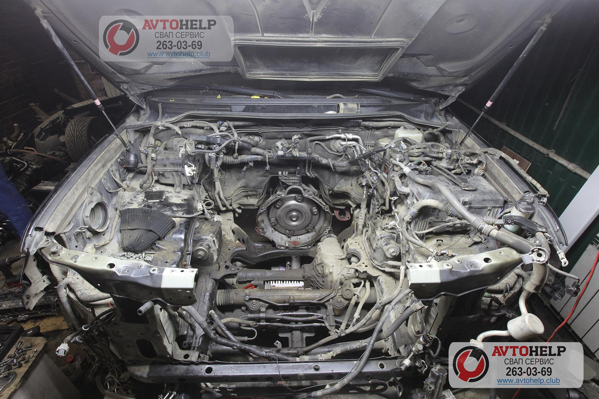 Ремонт двигателя и гильзовка Land Cruiser