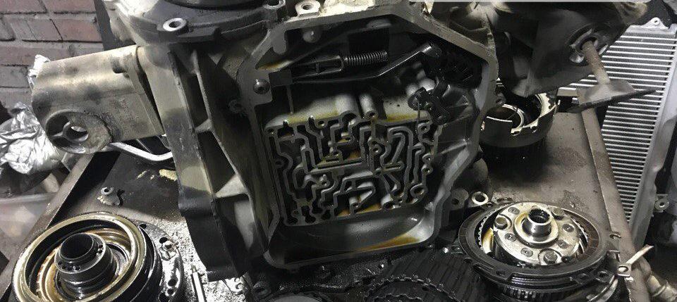 Ремонт АКПП Volkswagen 01n