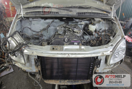 ГАЗель замена двигателя на 5VZ-FE