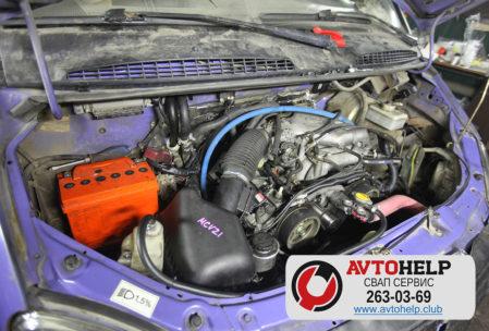 Замена двигателя в ГАЗеле на 5VZ