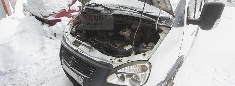 Завершена ГАЗель на двигателе 2JZ-FSE