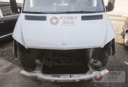 Мерседес Спринтер, замена двигателя на 3UZ-FE, mercedes Sprinter swap 3uz, новосибирск