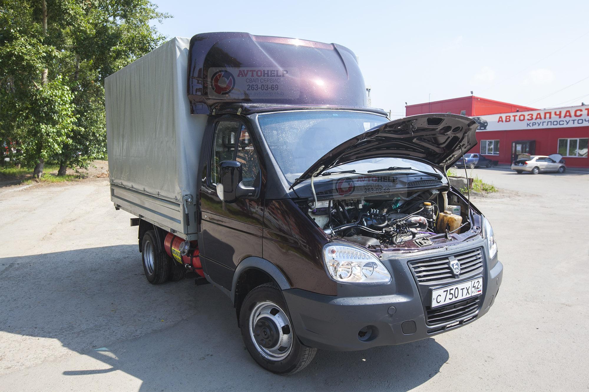 ГАЗель на 5VZ-FE, завершена установка двигателя