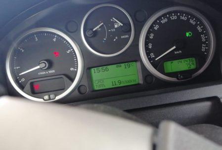 расход 12 литров Land Rover Discovery 3