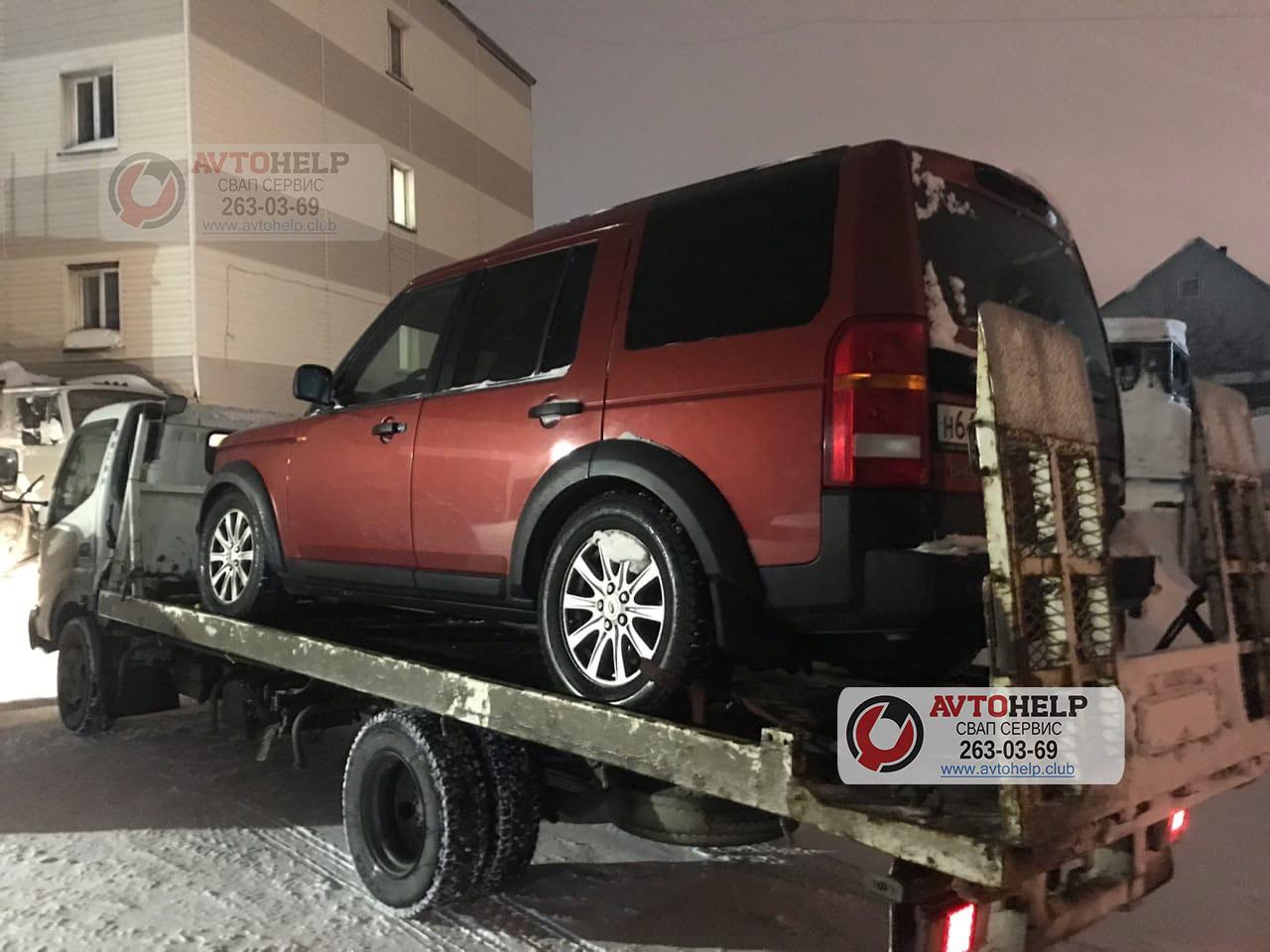 Очередной  Land Rover на 3uz