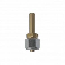 Фитинг прямой для трубки ПВХ YOTA Ø6 мм