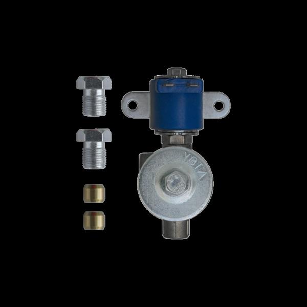 Электромагнитный клапан газа (пропан-бутан), YOTA 1108 вход\выход 8