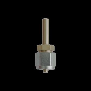 Фитинг прямой для трубки ПВХ FARO Ø6 мм